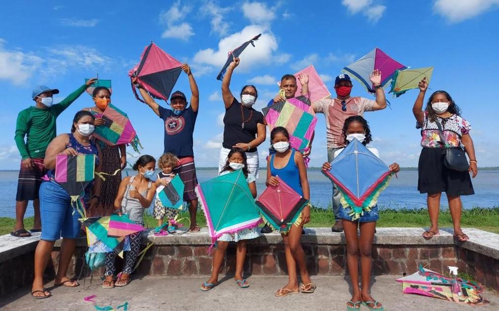 O Portal da Amazônia foi o local escolhido para o momento de lazer do grupo. A Funpapa disponibilizou uma van para o transporte dos acolhidos